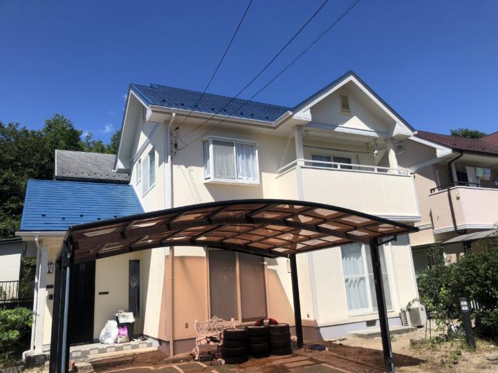 広島市佐伯区湯来町 S様邸 外壁塗装・屋根塗装工事