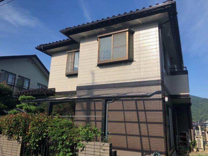 広島市安芸区矢野南 S様邸 外壁塗装工事