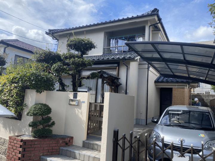 広島市佐伯区藤の木 Y様邸 外壁塗装工事