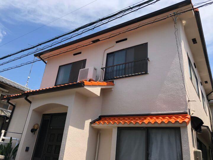 広島市安佐南区西原 W様邸 外壁塗装・屋根塗装工事