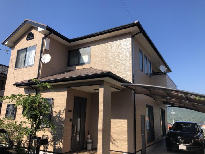 広島市安芸区矢野南 U様邸 外壁塗装・屋根塗装工事