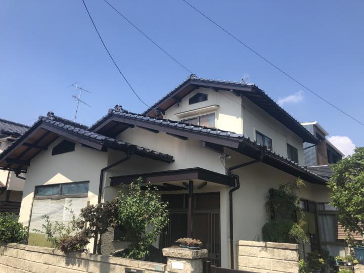 広島県廿日市市山陽園 M様邸 外壁塗装工事