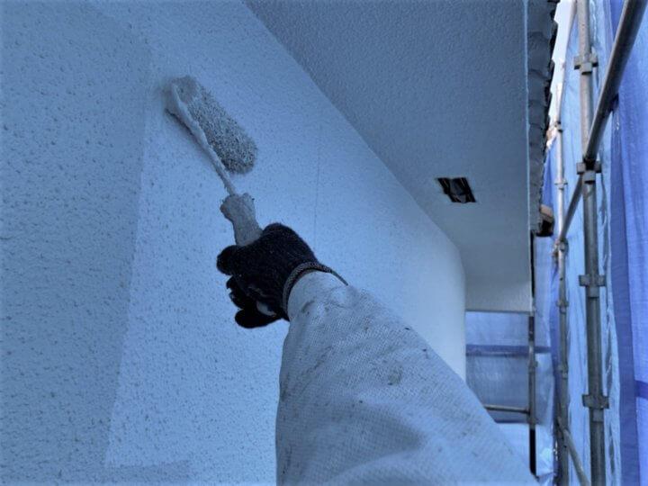 ⑨外壁上塗り 一回目