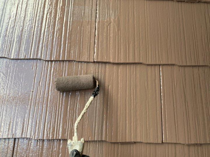 ⑬屋根上塗り 二回目