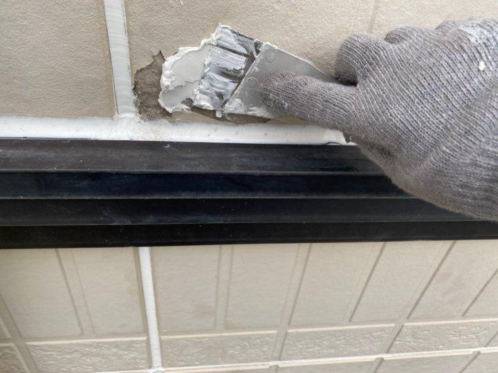 ⑯外壁下地補修