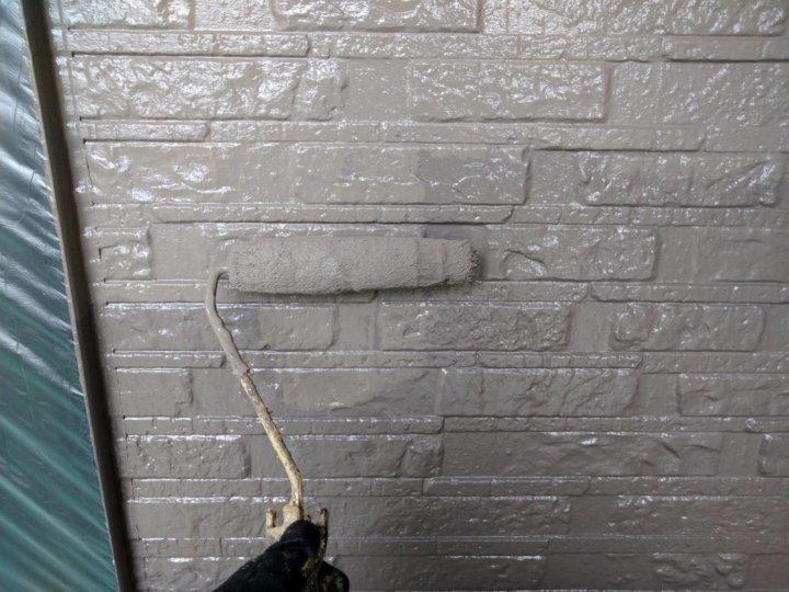 ⑬外壁上塗り 一回目
