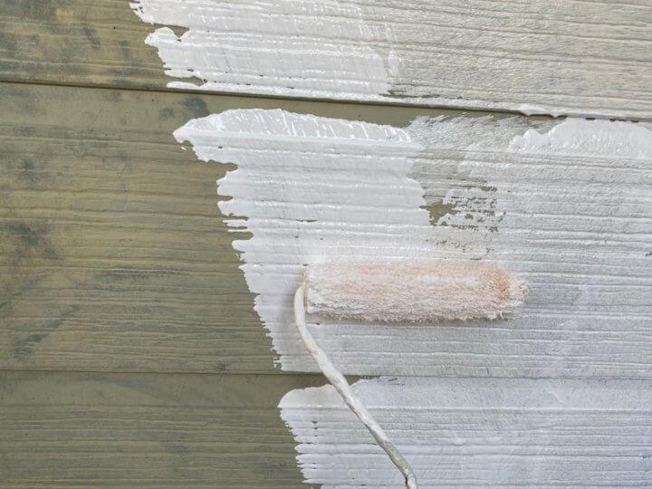⑪外壁下塗り(サイディング壁)