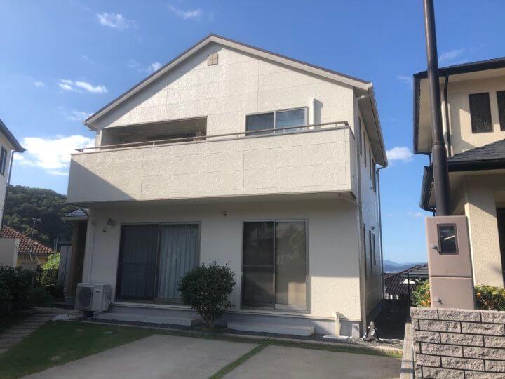 広島市安芸区矢野南 U様邸 外壁塗装工事・屋根塗装工事