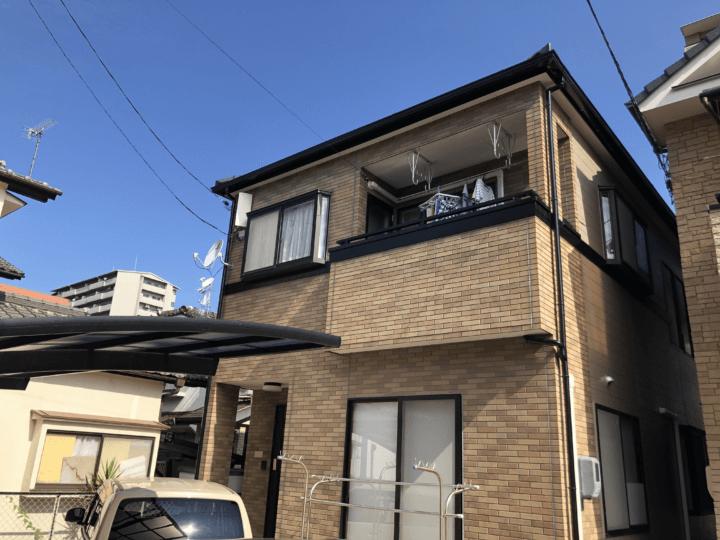 広島市中区江波南 T様邸 外壁塗装工事