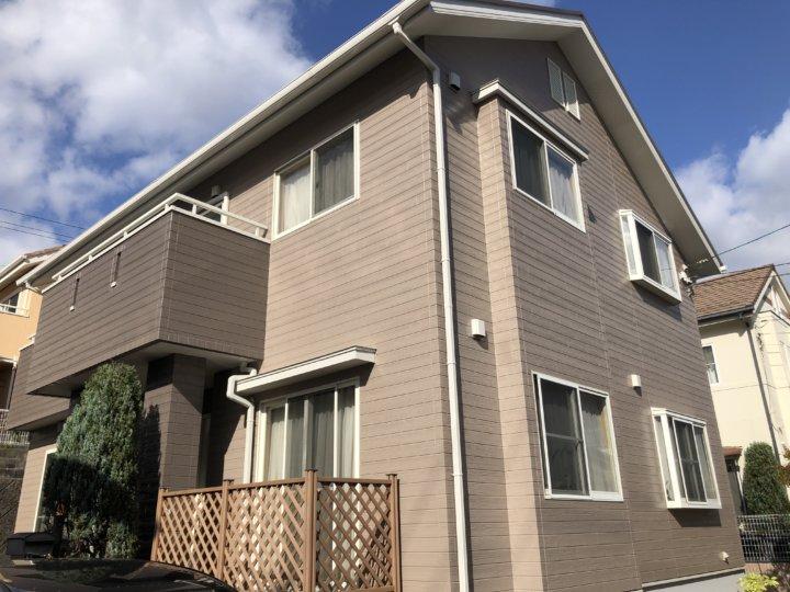 広島市西区高須台 J様邸 外壁塗装・屋根塗装工事