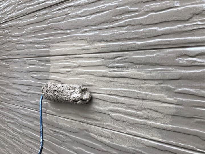 ⑫外壁上塗り 二回目