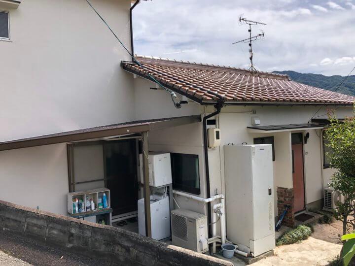 広島県安芸郡海田町 N様邸 外壁塗装・屋根葺き替え工事