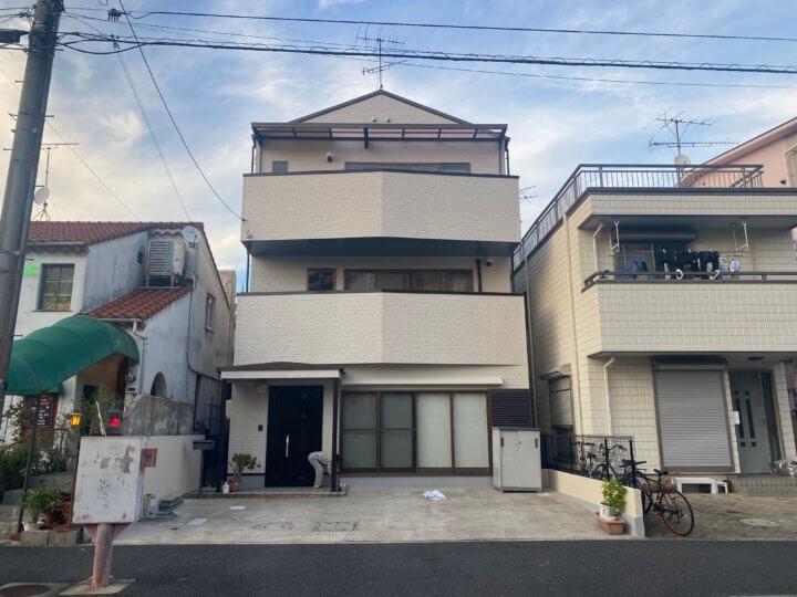 広島市西区草津新町 K様邸 外壁塗装・屋根塗装工事