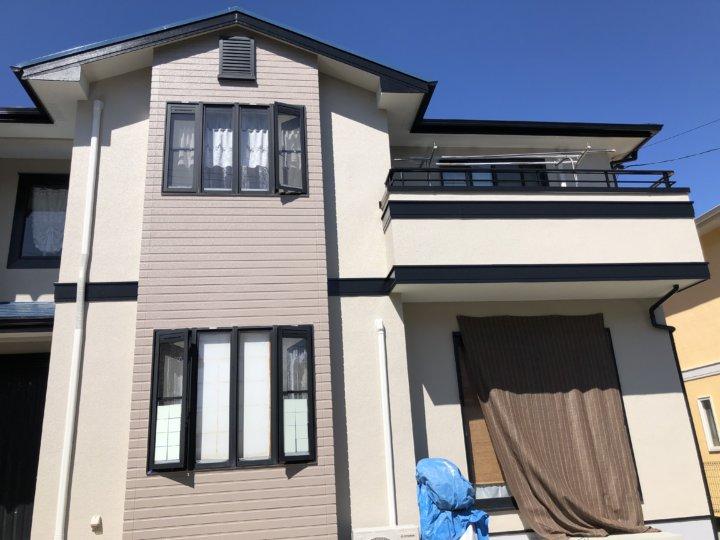 広島市佐伯区河内南 K様邸 外壁塗装・屋根塗装工事