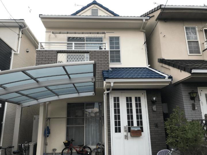 広島市佐伯区五日市中央 N様邸 外壁塗装・屋根塗装工事