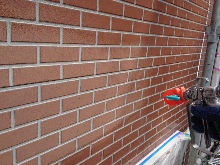⑩外壁下塗り(1階サイディング壁)
