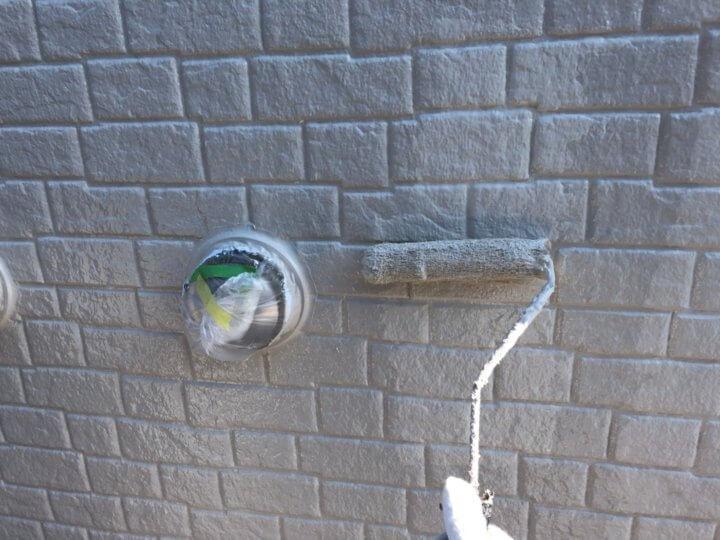 ⑮外壁上塗り 二回目