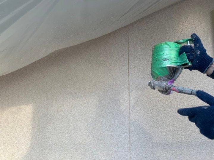 ⑰外壁上塗り 二回目(2階モルタル壁)