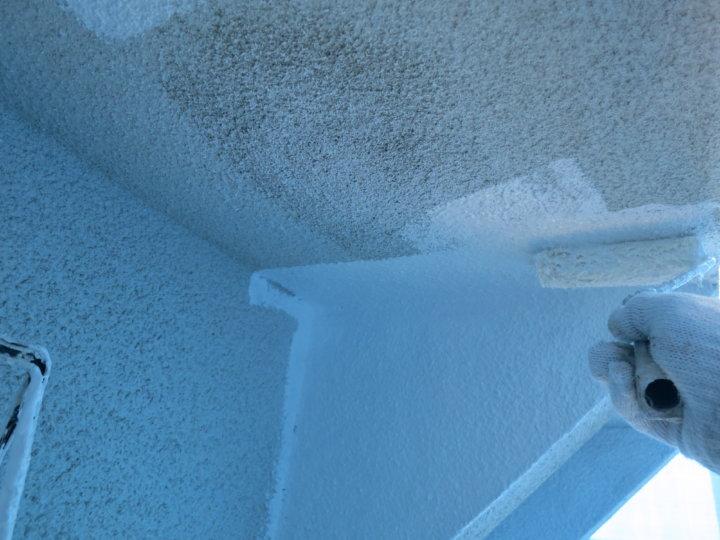 ⑤外壁下塗り