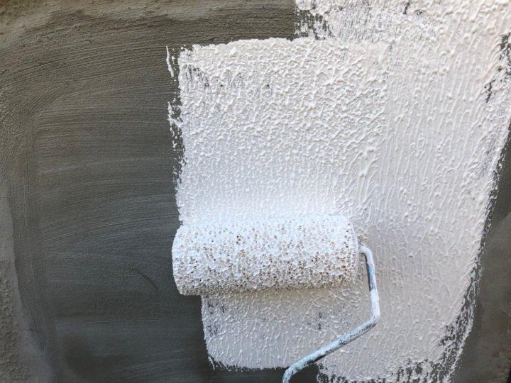 ㉕外塀上塗り 一回目