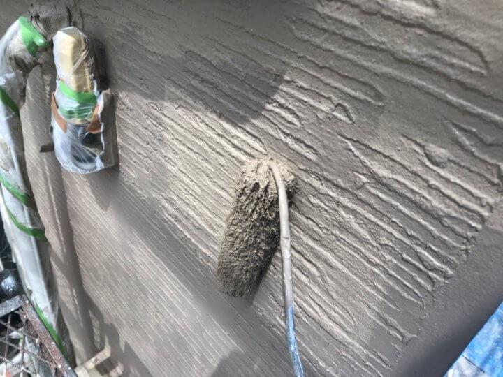 ⑭外壁上塗り 二回目