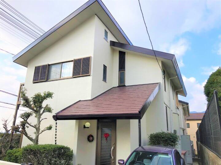 広島市佐伯区五日市町美鈴園 T様邸 外壁塗装・屋根塗装工事