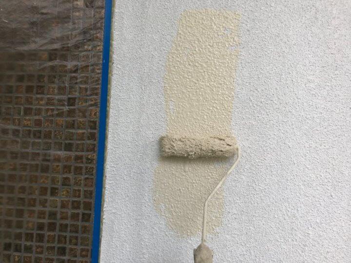 ⑪外壁上塗り 一回目