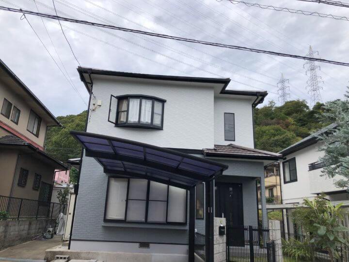 広島市安芸区矢野南 T様邸 外壁塗装・屋根塗装工事