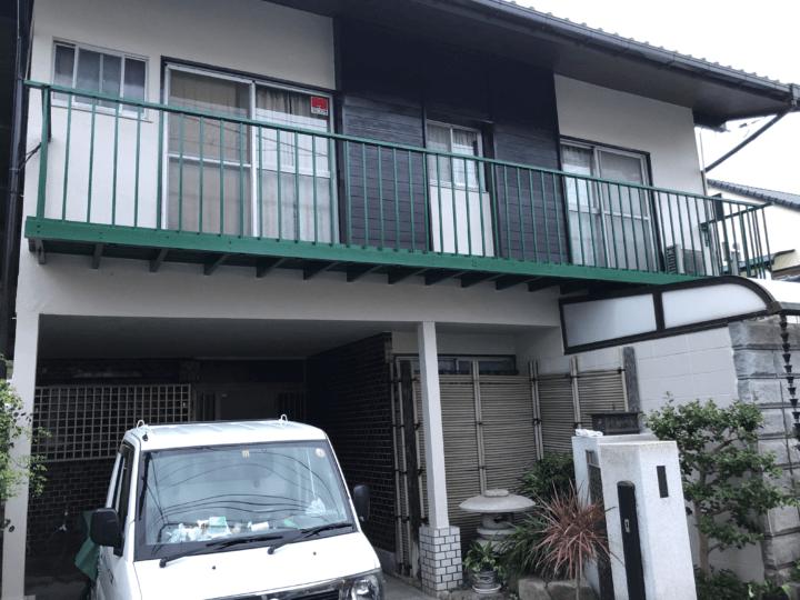 広島市佐伯区利松 K様邸 外壁塗装工事・軒天張替え工事