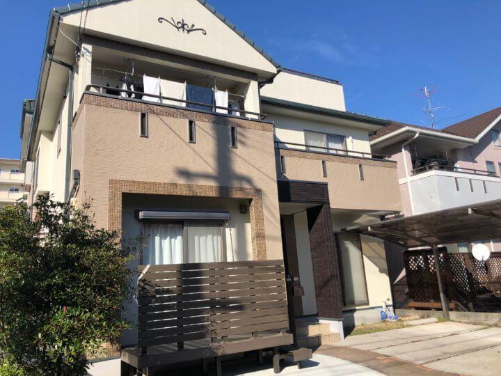 広島市西区己斐中 D様邸 外壁塗装工事