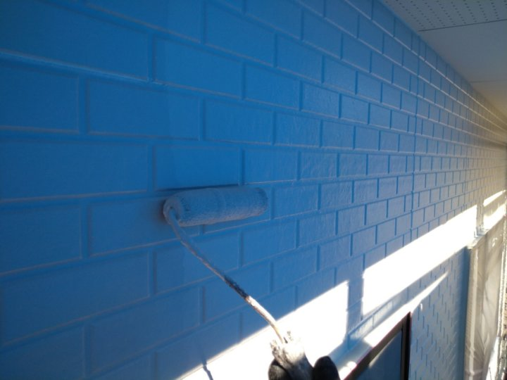 ⑱外壁上塗り 二回目