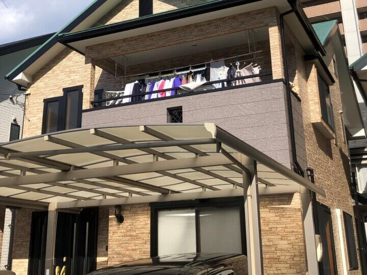 広島市安芸区矢野東 A様邸外壁塗装・屋根塗装工事