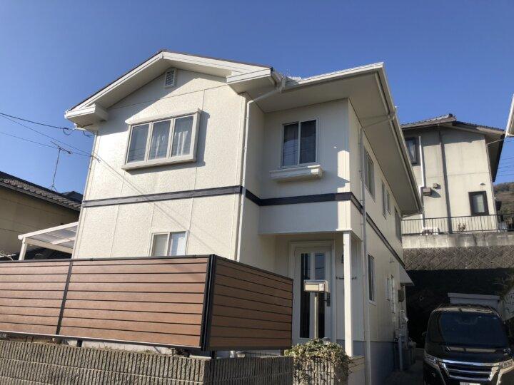 広島市佐伯区観音台 K様邸 外壁塗装・屋根塗装工事