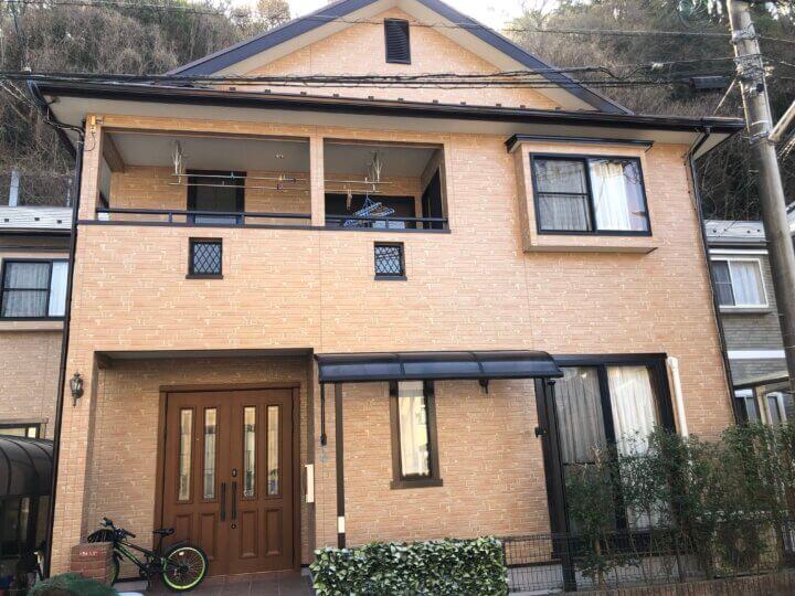 広島市安芸区矢野東 K様邸 外壁塗装・屋根塗装工事
