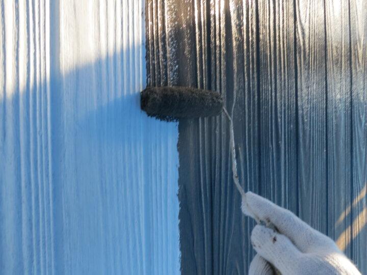 ⑱外壁(ベランダ部) 上塗り一回目