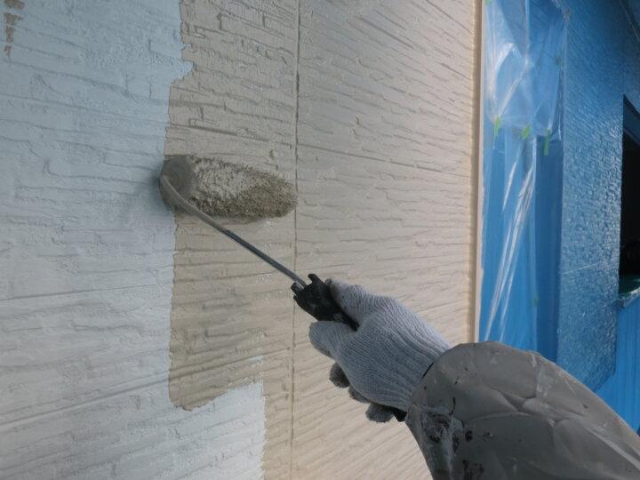 ⑯外壁上塗り 一回目