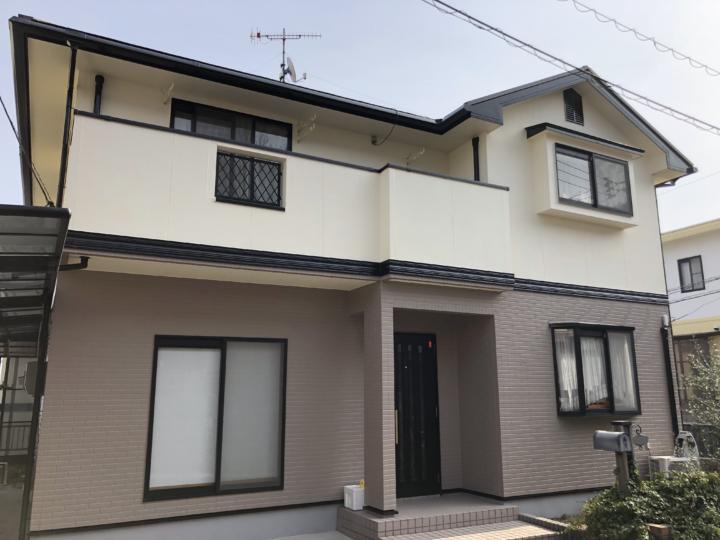 広島県大竹市御園台 M様邸 外壁塗装・屋根塗装工事