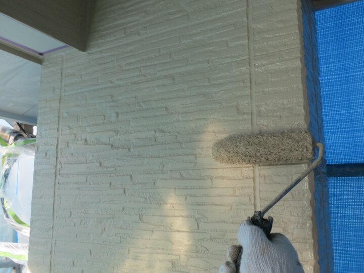 ⑰外壁上塗り 二回目