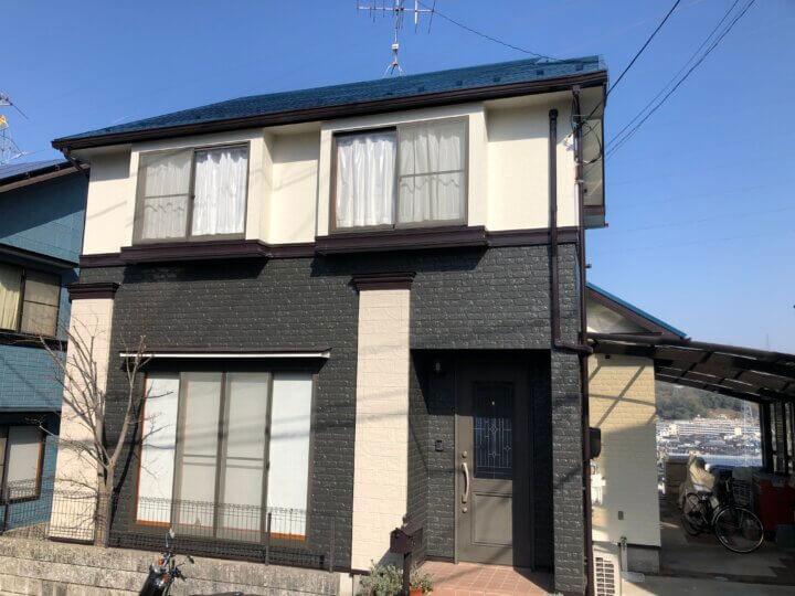 広島市東区温品町 H様邸 外壁塗装・屋根塗装工事