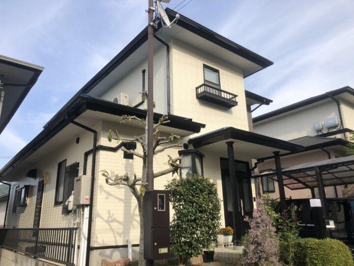 広島市安芸区矢野南 M様邸 外壁塗装・屋根塗装工事