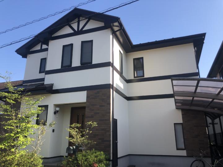 広島市安佐南区大塚西 W様邸 外壁塗装・屋根塗装工事