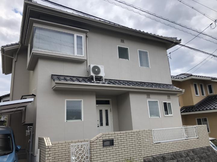 広島市佐伯区藤の木 T様邸 外壁塗装工事