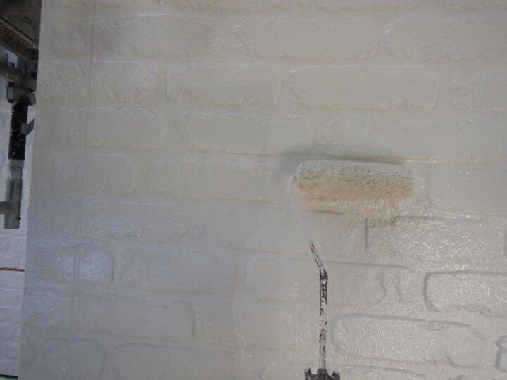 ㉒外壁上塗り 二回目