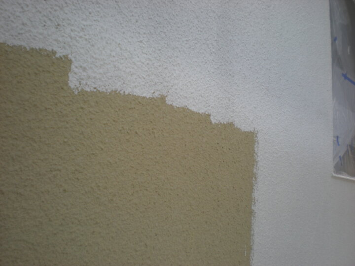 ⑥外壁下塗り