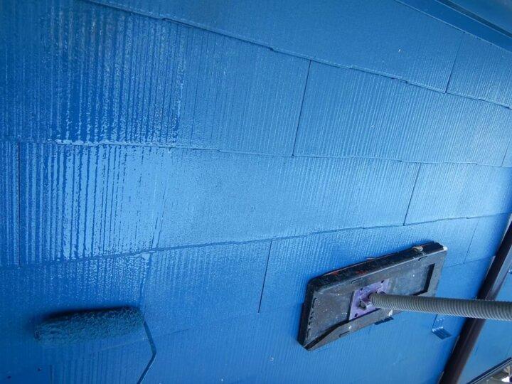 ⑪屋根上塗り 二回目