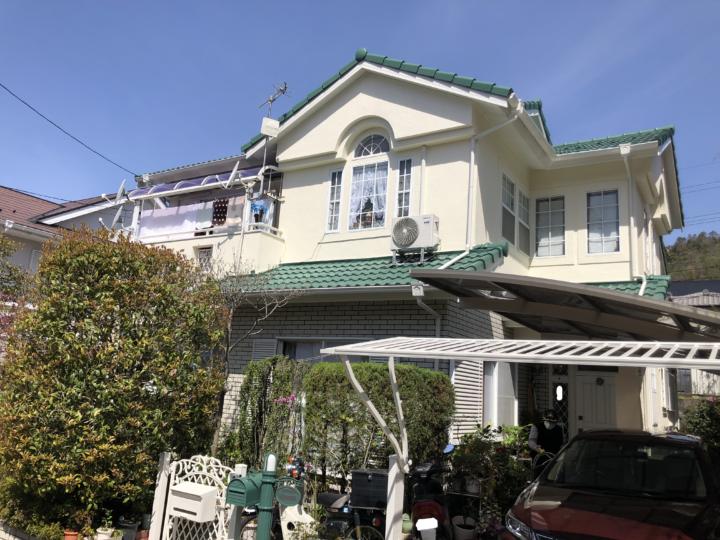 広島県広島市佐伯区美鈴が丘 T様邸 外壁塗装・屋根塗装工事