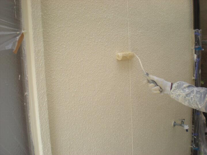 ⑧外壁上塗り 二回目