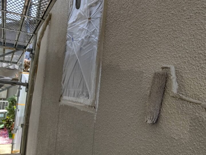 ⑦外壁上塗り 二回目