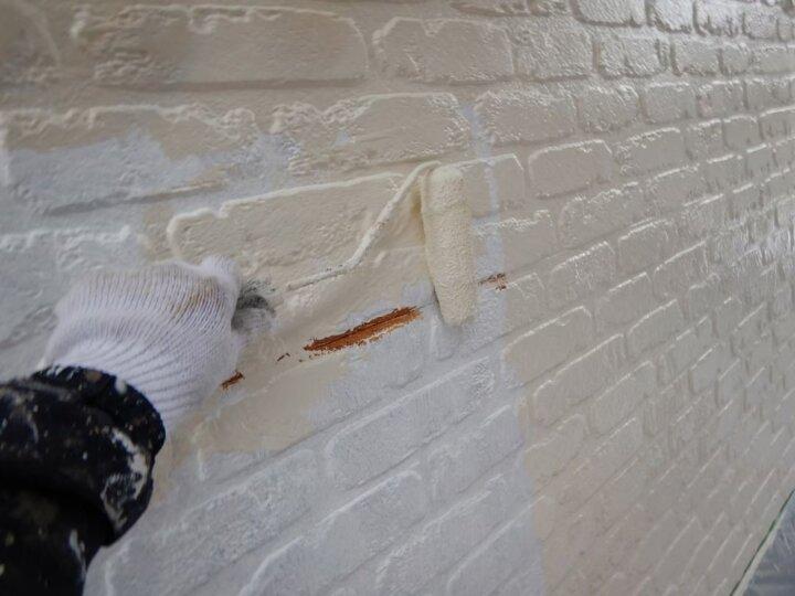 ㉑外壁上塗り 一回目