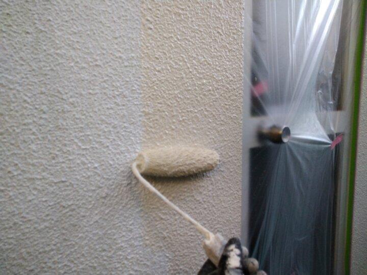 ⑩外壁上塗り 一回目